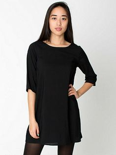 Black Tent Dress from American Apparel