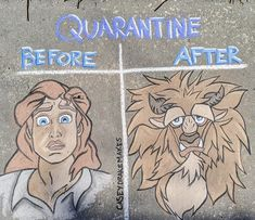 Local Orlando Sidewalk Artist Shares More Disney Magic with Her Neighbors Disney Jokes, Funny Disney Memes, Funny Relatable Memes, Funny Cartoons, Walt Disney, Cute Disney, Disney Art, Chalk Drawings, Cute Drawings