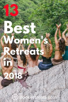 Wishing you were surrounded by a tribe of like-minded women? We've rounded up 13 women's retreats that will remind you of your power, resilience, and beauty. Sound good? Check 'em out, sister. #womensretreat #yogaretreat #spirituality https://bookretreats.com/blog/womens-retreats/