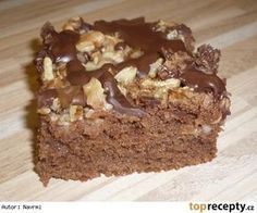 Dobrota z jablek a ořechů Cookie Recipes, Dessert Recipes, Sweet Cakes, Cheesecakes, Cake Cookies, Nutella, Food And Drink, Sweets, Healthy Recipes