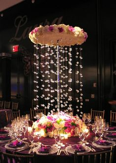 "Love the table setting and flowers. for more wedding decor, follow my ""Put a ring on it, baby"" board!"