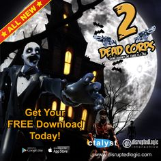 Calling all GAMERS!!! The Dead Corps 2, first-person zombie shooter, mobile video game is remaining as a FREE DOWNLOAD in the app stores. Get it today & share the news with your friends.   http://disruptedlogic.com/dead-corps-2/   #freegame #freeapp #freedownload #mobilegame #thewalkingdead #gamers #zombies #deadcorps2 #disruptedlogic #ctalyst #wavegame