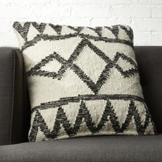 """20"""" Asterix Geometric Pillow with Down-Alternative Insert + Reviews 