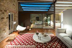 Post: Vacaciones en la casa del pueblo --> blog decoración, casa del pueblo, casa rural, decoracion diseño interiores, estilo minimalista, estilo rústico moderno, muros de piedra, reformas casas rurarles, vacaciones en el pueblo