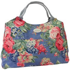 cool Oilcloth hold-all bag