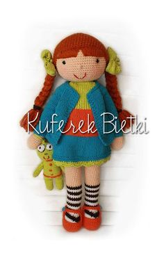 I crochet dolls for request. If you want to order a doll, write to me. I don't sell any instruction how to make my toys. Ich mache Puppen...