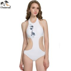0b12203ad179a Queenral swimwear one piece bras solid bra monokini biquini Beach one piece bathing  suits one piece plavky Bra set-in Bra   Brief Sets from Women s Clothing ...