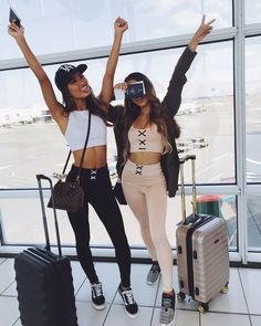 "7,091 Likes, 44 Comments - SHOWPO  (@showpo) on Instagram: ""Adventures with your bestie  Our 'Workin It crop top in white' + 'Get Laced tights in black' and…"""
