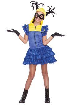 Jr Teen Girls Despicable Me Evil Master Helper Minion Halloween Costume-sz Despicable Me Costume, Minion Halloween Costumes, Kids Costumes Boys, Boy Costumes, Dress Up Outfits, Cosplay Outfits, Girls Vampire Costume, Unicorn Party Costume, Aladdin Costume