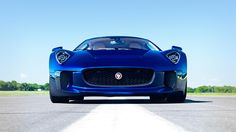 Drives The Jaguar C X75