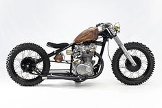 Honda CB450 Bobber - Tracker by Steel Bent Customs #motorcycles #bobber #motos | caferacerpasion.com
