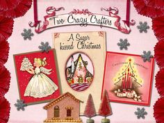 darling Christmas shadowbox...