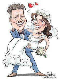 Pas getrouwd! - De Karikaturist