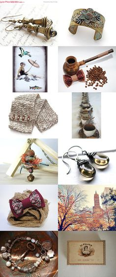 smoky and rustic by MINA SHAKED on Etsy--Pinned with TreasuryPin.com