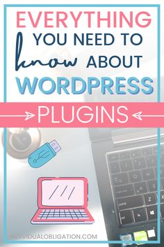 This WordPress blogging for beginners tutorial will show you the blogging basics you need to know about for using WordPress plugins on your new blog. WordPress plugins are powerful blogging tools + resources that every blogger should know about to start a blog. If you are planning on starting a blog on WordPress then this guide is a must-have to master these blog and WordPress blogging tips for beginners #BloggingTips #BloggingForBeginners #WordPressTips #BlogTips #WordPressPlugins…