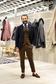 PITTI UOMO SNAP by BEAMS 3 の画像|ELEMENTS OF STYLE