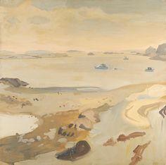 laflaneuse8: Fairfield Porter, Low Tide, Fairfield Porter, 1962