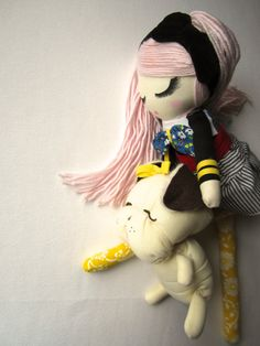 Custom Classic Cloth Doll by Mend