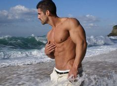 Joao in the sea