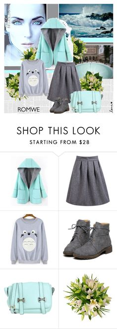 """""""Romwe 10"""" by followme734 ❤ liked on Polyvore featuring Blugirl, women's clothing, women, female, woman, misses, juniors and romwe"""