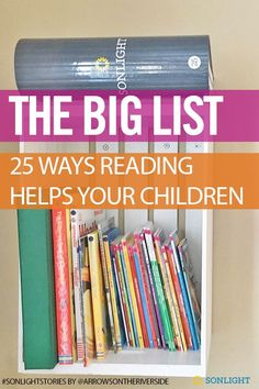 The Big List: 25 Ways Reading Helps Your Children Reading Aloud, Reading Help, Teaching Reading, Learning, Homeschool Curriculum, Homeschooling Resources, Reading Resources, Literacy Activities, Reading Benefits
