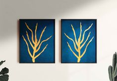 Set of 2 printable Gold Abstract Lines Artwork, Wall decor, Gold Blue Brush Wall Art, Printable Decor Bedroom Wall Art, Digitized Prints Gold Wall Art, Gold Art, Line Artwork, Artwork Prints, Abstract Lines, Abstract Wall Art, Gold Line, Gold Walls, Last Minute Gifts