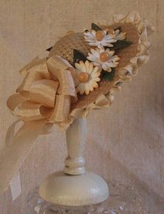 Cynthia Howe's Tutorial for fancy hats  | Source: Cynthia Howe Millinery in Miniature