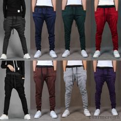 New Mens Women Boys Casual Sports Dance Harem sweat Pants Baggy Jogging Trousers   eBay
