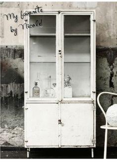 Apothekerskast | Interieur design by nicole & fleur