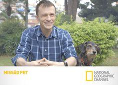 Se você não manda, você obedece. #MissãoPet com Alexandre Rossi. Novos episódios, sábados, às 22h30, no Nat Geo.