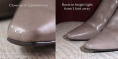 How to Repair a Scrape on Faux Leather Shoes