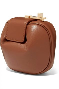 f745d46f8 Tan Leather, Leather Wallet, Leather Backpack, Gabriela Hearst, Fashion  Handbags, Who