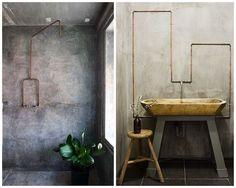 WABI SABI Scandinavia - Design, Art and DIY.: Some lovely bathroom inspiration