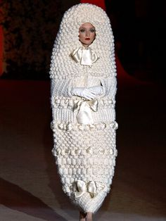 Yves Saint Laurent's final couture runway show in 2002