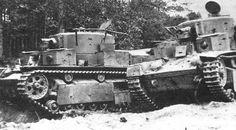 foto van Soviet Tanks of WW 2.