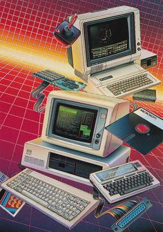 IBM rs 232 (Tech Aesthetic Technology) – -… – new – computer New Retro Wave, Retro Waves, 80s Aesthetic, Aesthetic Design, Aesthetic Green, Futuristic Technology, Green Technology, Technology Design, Technology Gadgets