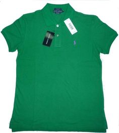 Polo Ralph Lauren Women's Classic Fit Polo Shirt - Scarab Green - Small by Polo Ralph Lauren. $34.99. The Classic-Fit Polo: An American style icon is back in a more generous, relaxed fit.. Save 53%!