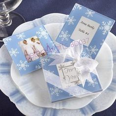 Winter Snowflake Party Photo Coasters Hot Sale BETER-BD037 Wholesale Wedding Favours, Birthday Party Favors