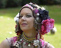 Image result for  floral bellydance headpiece