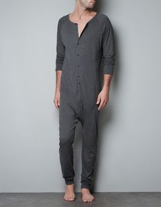 RELAX FIT JUMPSUIT - Homewear - Man - ZARA United Kingdom