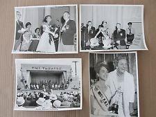 4 1963 Glossy Photographs, Pacific National Exhibition, Miss P.N.E. Linda Douma