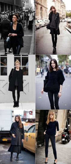 Head-to-toe black: thumbs up or down?