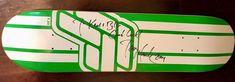 Tony Hawk Autographed Fast Forward Skate Shop Skateboard Advertising Deck #FastForward