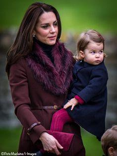 ©Pete Maclaine / i-Images - Kate and Charlotte, Christmas 2016