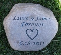Personalized Oathing Stone Wedding Gift Ideas Oath Stone Wedding Gift for the Bride and Groom 9 - 10 Inch Wedding Stone 5th Anniversary Gift Ideas, First Wedding Anniversary Gift, Wedding Day Gifts, Bride Gifts, Wedding Ideas, Unique Engagement Gifts, Personalized Engagement Gifts, Personalized Anniversary Gifts, Celtic Wedding