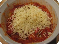 See the Blue Sky: Quick and Easy-Pepperoni Spaghetti Squash