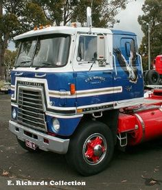 International cabover. Ol' Skool. Simple. Clean. Sexy!
