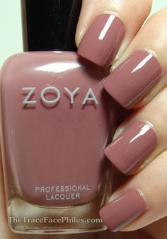 The TraceFace Philes: Zoya Naturel Deux Collection! Zoya Madeline