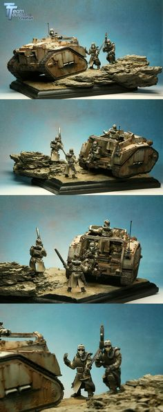 Looking for the enemy - Diorama Gold at GD UK 2009