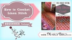 How to Crochet Linen Stitch with @marly_bird